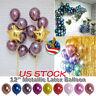 50pcs Thick Metal Latex Balloons Wedding Balloon Birthday Party Decor 12inch USA