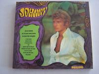 CD ALBUM DE JOHNNY HALLYDAY , JEUNE HOMME , + LIVRET , DIGIPACK COMME NEUF