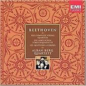 "CD x 7 BOX SET EMI 5 73606 2 Beethoven ""Complete String Quartets"" Alban Berg Q."