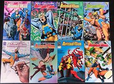 ANIMAL MAN 1988 #1 TO 76+ ANNUAL  COMP. VF+ SHARP MORRISON/DELANO,GREAT READ!