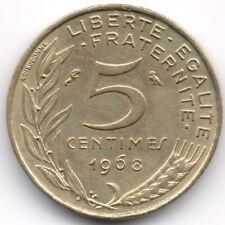 France : 5 Centimes 1968