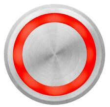 07225221 - PIEZO STAINLESS STEEL SWITCH, 22MM, MAINTAINED PULSE, RED ILLUMIN