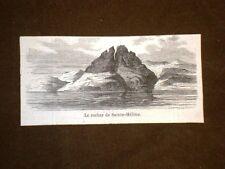 Le Rocher de Saint Hélène La Rocca di Sant'Elena