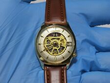 Bulova Spaceview 218 Accutron Skeleton Watch - Alpha II - Tuning Fork Serviced