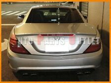 11-16 M-BENZ R172 SLK250 SLK350 AMG Type Trunk Spoiler Wing - Pick Your Color