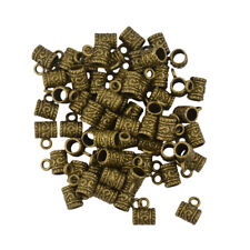 50pc Pendant Bail Connector Pendant Jewelry Making Findings DIY Bronze