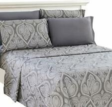 Comfort 1800 Count 6 Piece Queen Size Luxury Bed Sheet Set Deep Pocket Sheets