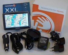 "NEW TomTom XXL 550T Car 5"" GPS USA/Canada/Mexico Maps LIFETIME TRAFFIC 550"