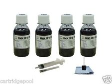 Ink refill kit for Canon PG30 PG40 PG50 MX300 MX310 MP460 MP470 Black 4x4oz/S