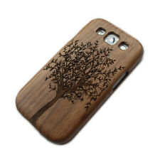 Natural Wooden Wood Big Tree Skin Case Cover For Samsung Galaxy S3 SIII i9300