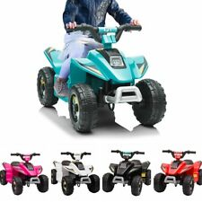 6V Electric Ride On ATV Car Kids Toy Battery Power 4 Wheeler w/Music 5 Color