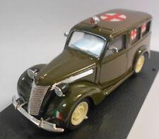 Brumm 1/43 Scale Metal Model - R180 FIAT AMBULANZA 1100E E HP 35 1949-53