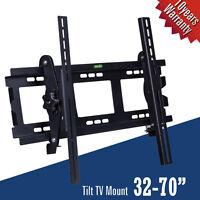 TV Wall Mount Bracket Plasma Tilt 32 37 40 42 46 47 50 55 65 LED LCD Flat Screen