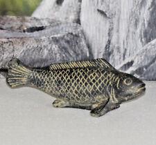 Fisch Skulptur Figur Stein Deko Garten Teich 18.058