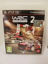 PS3 PLAYSTATION 3 VIDEOGIOCHI GIOCHI USATI WRC 2 WORLD RALLY ITA ITALIA RARI