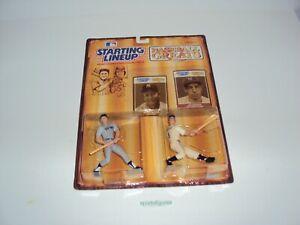 1989 Starting Lineup Baseball Greats Mickey Mantle / Joe DiMaggio Yankees