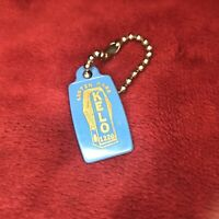 Vintage Advertising Key Chain For AM 1320 KELO Radio in Sioux Falls, SD.