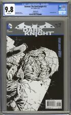 Batman The Dark Knight #12 CGC 9.8 1:25 Sketch Cover (2012) Highest Graded Finch