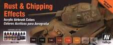 Rust & Chipping Effects Colors: 8 Airbrush Paints (Vallejo 71186)