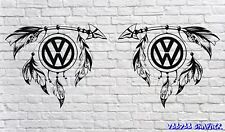 "Volkswagen 20"" Grand VW Autocollant Stickers X2 Transporter T6 T4 T5 Camper Dub Camper"
