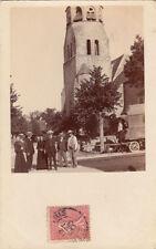 SEINE-SAINT-DENIS photo-carte attelage timbrée 1906