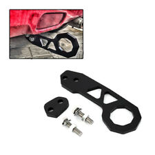 1PC Black Racing Billet Aluminum Rear Tow Hook Fit For Civic Crx Integra Rsx