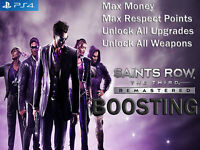 Saints Row: The Third Remastered - Max Mod Money Respect Unlock All (Not A Game)