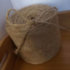 10M 3ply Jute Twine Rustic Shabby chic String Brown Craft Hessian Natural Burlap