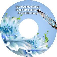 2x Guided Meditación Avoid De fumar & Adicional Deep Relaxation on 1 CD Curación