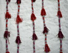 5 Hand Beaded Egyptian Bedouin Curtains Tassel / Wall hanging Charm/ 70