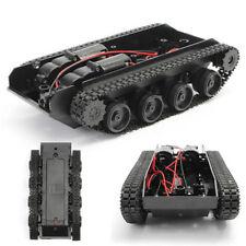 Robot Smart Tank Chassis Diy Kit Car Arduino Light Shock For 130 Motor 3-7V