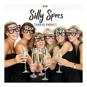 Girls Night Out Silly Specs Selfie Glasses Hen Party Birthday Photo Booth Fun