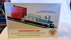 HO Scale Bachmann Operating Floodlight Car, Amtrak Orange, #1440 BNOS