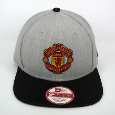 6424e757437 New Era Men s Manchester United Liquid Chrome Club Logo 950 Snapback Cap ...