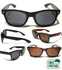 Classic Retro Sunglasses - Black & Tortoise Shell / Brown Frame - Mens / Womens