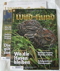 2x Wild und Hund Nr.10  20 Mai 2021; Wild und Hund Nr.9 6 Mai 2021 Abo Hefte Neu