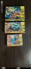 Lot 3- Lego Creator  31099 31101 31102 New Sealed Sets