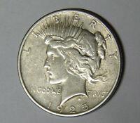 1925 Peace Silver Dollar XF Philadelphia Mint m.rm.tb