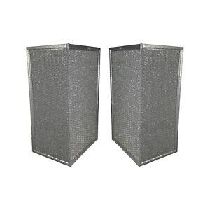 PACK of 2 American Metal Filter Company RHF1119 Range Hood Grease Wing Filters