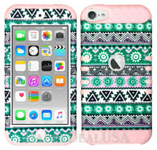 For Apple iPod Touch iTouch 5 | 6 KoolKase Hybrid Silicone Cover Case Tribal 72