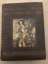 World Famous Paintings- Edited By Rockwell Kent 1st Ed 1939 - Wise & Co.