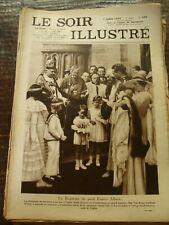 Le Soir Illustré - Le baptême du petit Prince Albert - 7/7/1934 - Belgique