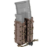 TMC Pistol Magazine Pouch Double Rifle Mag Carrier Mag Pouch 5.56 7.62 9mm