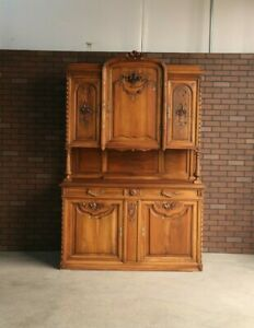 Antique French Hutch ~ China Cabinet ~ French Vaisselier ~ French Sideboard