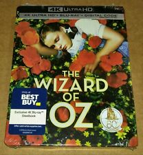 New The Wizard of Oz 4K Ultra HD + Blu-ray/Digital Steelbook™ Bestbuy *Dent*