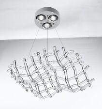 Lampadario contemporaneo in vetro di cristallo coll. BELL matrix 1370/S3L