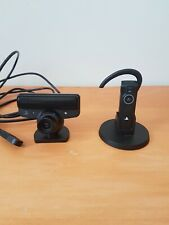 Official Sony Playstation 3 PS3 Eye Camera and Bluetooth Headset bundle UK