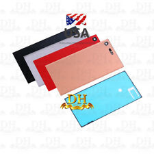USA For Sony Xperia XZ Premium G8142 Battery Housing Back Cover Door + Adhesive