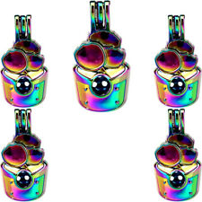 Diffuser Cake Pearl Cage Locket 5X-C806 Colorful Ice Cream Charms