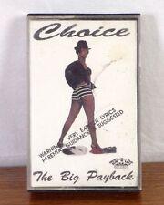 RARE Texas Rap Hip Hop Tape Cassette Choice The Big Payback - RAP-A-LOT 1990